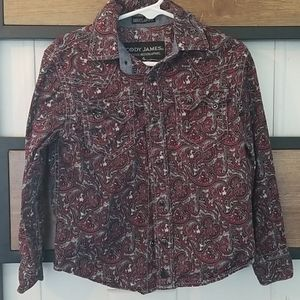 Western shirt snap up excellent condition